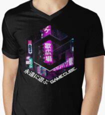 Vaporwave - Forever Play Men's V-Neck T-Shirt