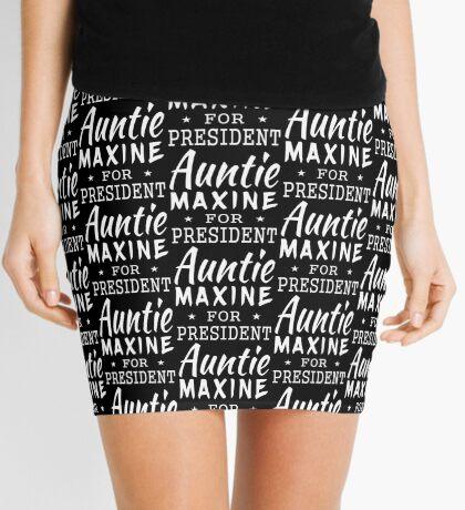 Auntie Maxine For President Mini Skirt