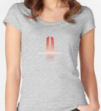 Vimy Centenary Rising Mist Women's Fitted Scoop T-Shirt