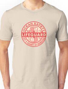 Hawaii Lifeguard Logo Unisex T-Shirt