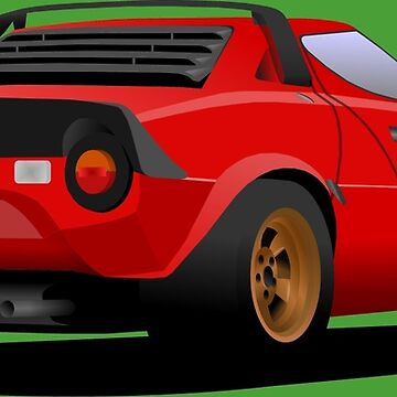 Stratos HF Stradale - Red by 2fedex2