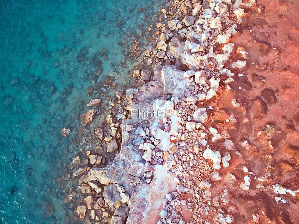 gantheaume rock pattern arrial  by Elliot62