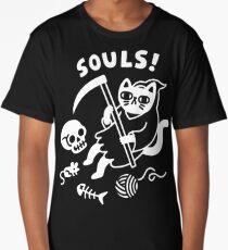 Death Cat Long T-Shirt