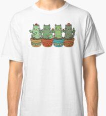 Catcus Garden (Single Row) Classic T-Shirt