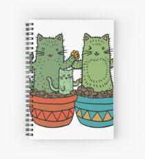 Catcus Garden (Single Row) Spiral Notebook