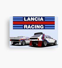 Lancia Rally - Group B Canvas Print