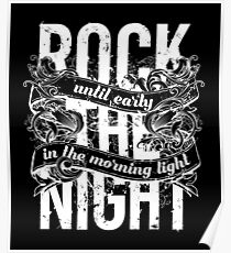 Rock the Night Poster