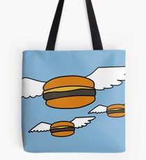 Heavenly Burgers Tote Bag