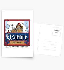 """""""Elsinore Beer"""" - as seen on """"Strange Brew"""" Postcards"""