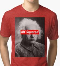 Albert Einstein MC Squared Supreme Tri-blend T-Shirt