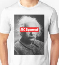 Albert Einstein MC Squared Supreme Unisex T-Shirt