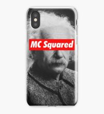 Albert Einstein MC Squared Supreme iPhone Case/Skin