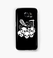 Cat Got Your Soul? Samsung Galaxy Case/Skin