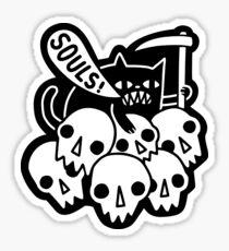 Cat Got Your Soul? Sticker