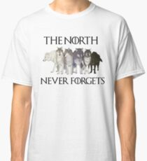 THE NORTH NEVER FORGETS Classic T-Shirt