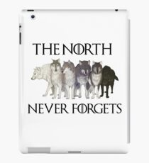 THE NORTH NEVER FORGETS iPad Case/Skin