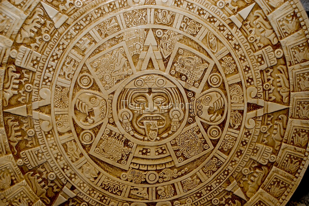 Aztec Symbol by Terry Runion