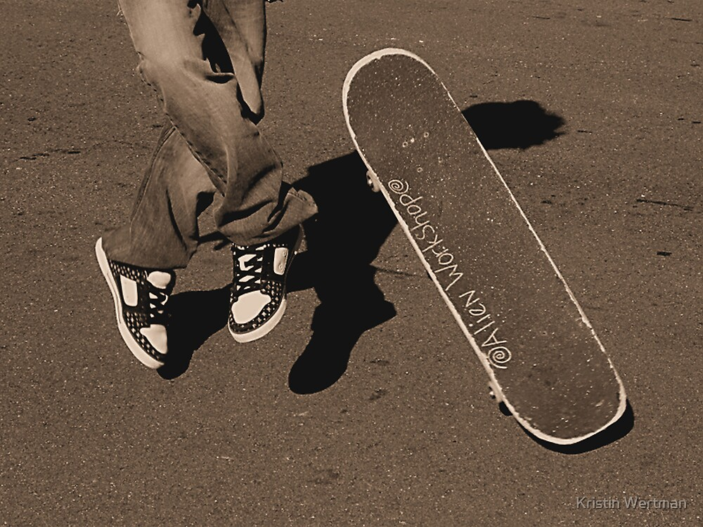 No Comply Try by Kristin Wertman