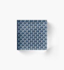 T.A.R.D.I.S Acrylic Block
