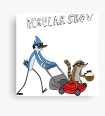 Regular Show Canvas Print