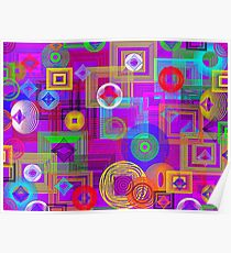 Arresting Abstract Poster