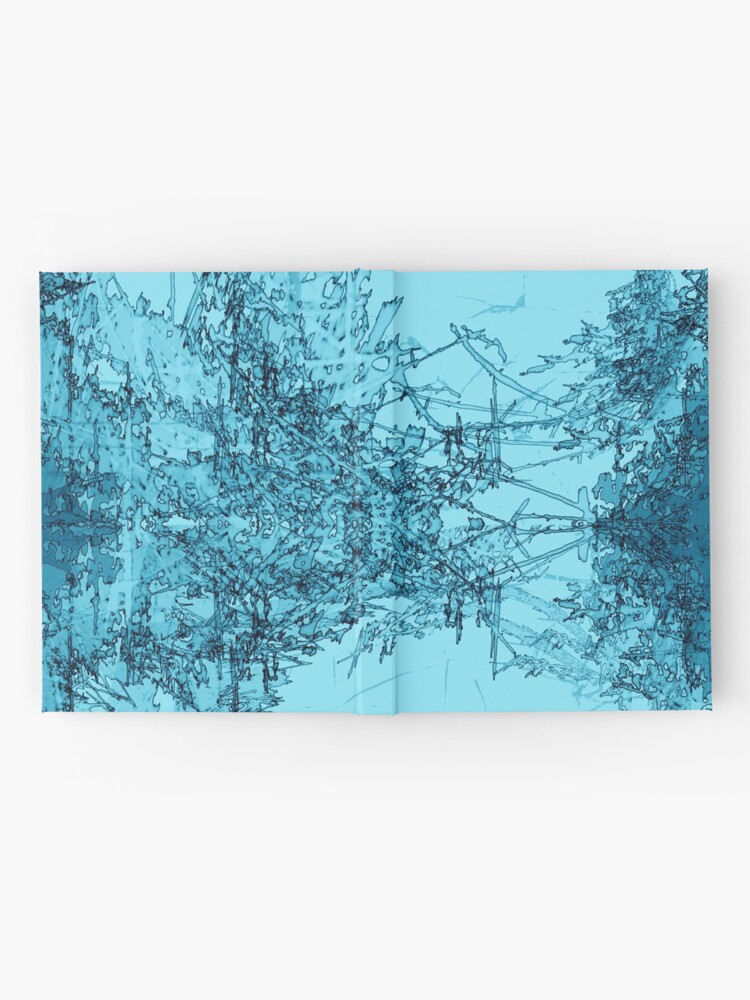 Alternate view of Edgy Turquoise Hardcover Journal