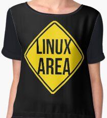 Linux area Chiffon Top