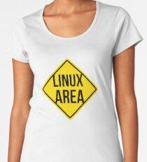 Linux area Women's Premium T-Shirt