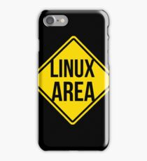 Linux area iPhone Case/Skin