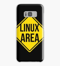 Linux area Samsung Galaxy Case/Skin