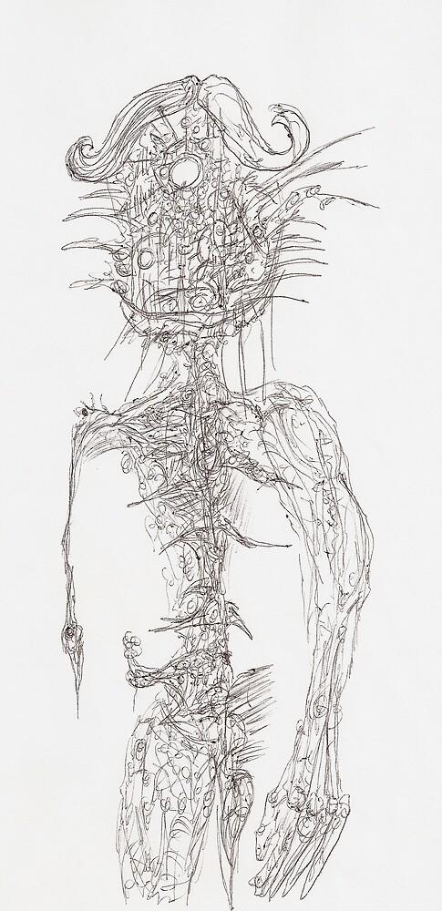 Beast Man by amokamoeba