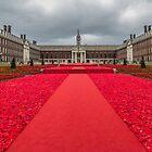 Carpet of commemoration - Royal Hospital, Chelsea by Sue Purveur