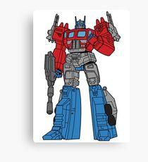 Transformers Optimus Prime illustration Canvas Print