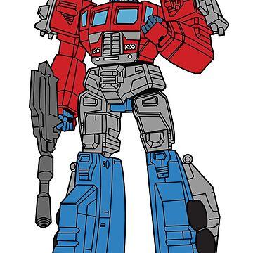 Transformers Optimus Prime illustration | Laptop Sleeve
