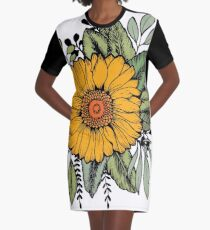 SUNFLOWER Graphic T-Shirt Dress