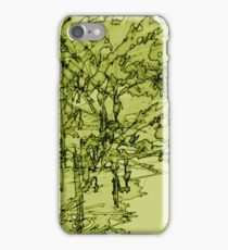 Edgy Olive iPhone Case/Skin