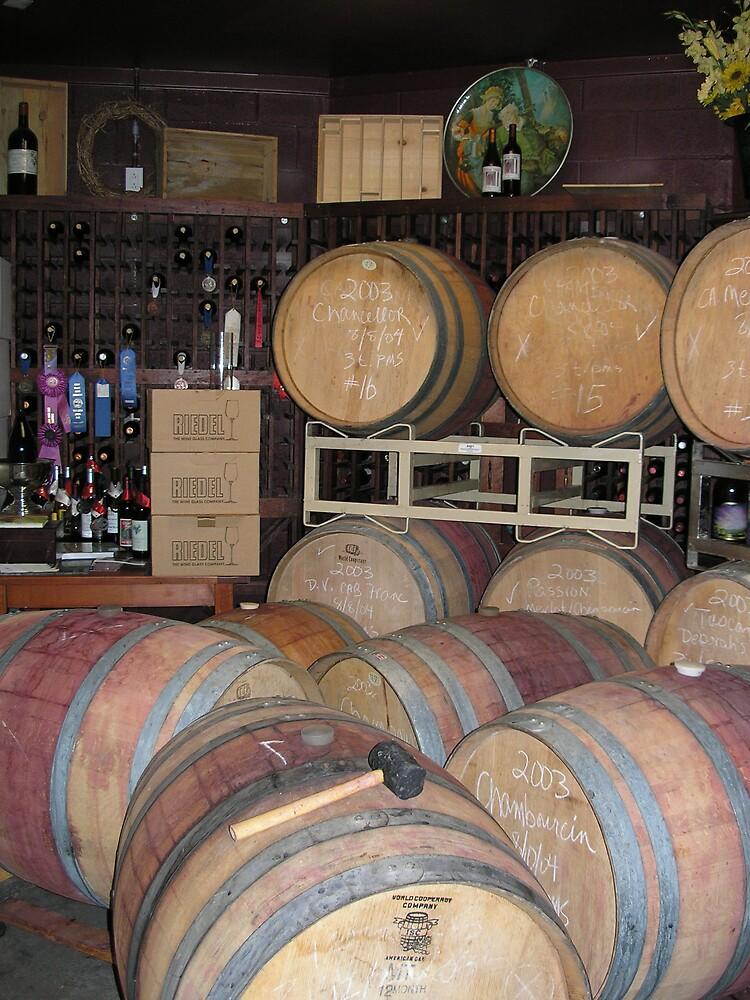 Wine tasting by Walter Strength