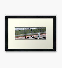 Formula Mazda Framed Print