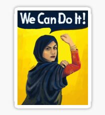 We can do it , middle east Sticker