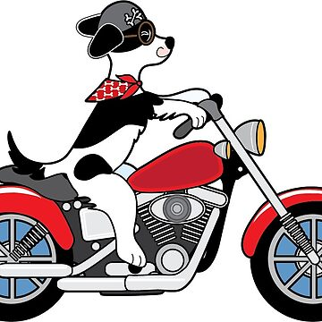 Motorcycle Dog by mkoudis