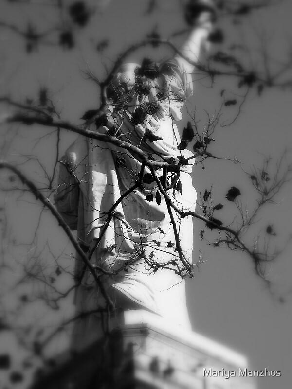 Behind Her by Mariya Manzhos