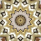 Mandala - Brown & Gold by Framerkat