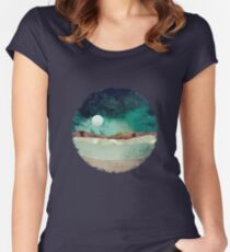 Spring Night Women's Fitted Scoop T-Shirt