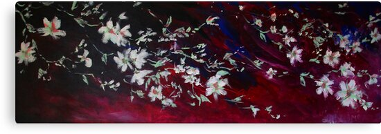 Evening Blossoms by Carmen  Cilliers