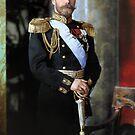 Tsar Nicholas II of Russia by Marina Amaral