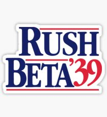 Reagan Beta Sticker