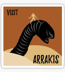 Visit Arrakis Sticker