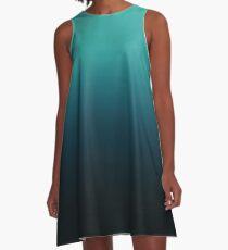 Unterwasser A-Linien Kleid
