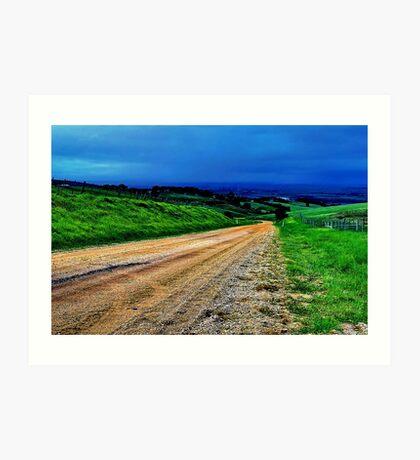 """Gully Road"" Art Print"