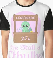 The Stall of Cthulhu Pink Lemonade 2 Graphic T-Shirt